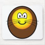 Lion emoticon   mousepad