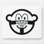 Steering wheel buddy icon   mousepad