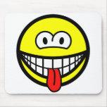 Wazzup smile   mousepad