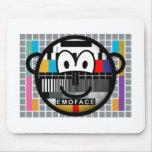 Test pattern buddy icon   mousepad