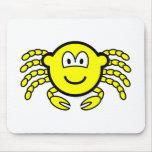 Cancer buddy icon Zodiac sign  mousepad