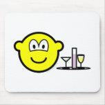 Waiter buddy icon   mousepad