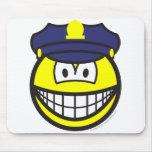 Cop smile   mousepad