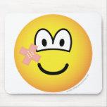 Plaster emoticon   mousepad