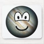 Jupiter emoticon   mousepad
