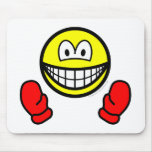 Mittens smile   mousepad