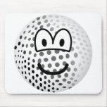 Golfball emoticon   mousepad