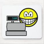 Cash register smile   mousepad