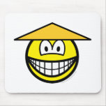 Chinese smile   mousepad