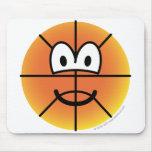Basketball emoticon   mousepad