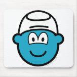 Smurf buddy icon   mousepad