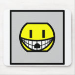 Wall socket smile   mousepad