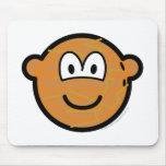 Coconut emoticon   mousepad