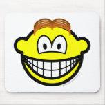 Wig smile   mousepad