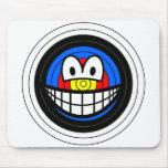 Target smile   mousepad
