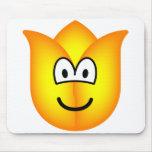 Tulip emoticon   mousepad