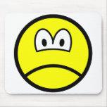 Sad smile   mousepad