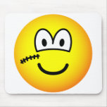 Scarface emoticon   mousepad