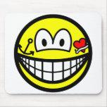 Tattoo smile   mousepad