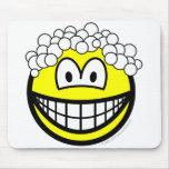 Hair washing smile   mousepad