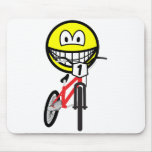 BMX smile Olympic sport Cycling mousepad