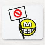 Demonstrator smile   mousepad