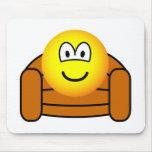 Armchair emoticon   mousepad