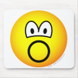 Inflatable emoticon   mousepad