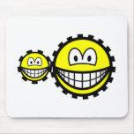 Cogwheels smilies   mousepad