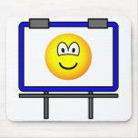 Billboard emoticon   mousepad