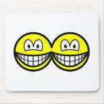 Siamese smile   mousepad