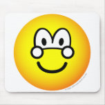 Button emoticon   mousepad