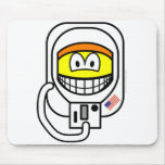 Astronaut smile   mousepad