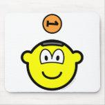 Piggy bank buddy icon   mousepad