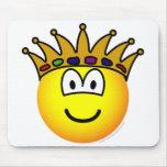 King emoticon   mousepad