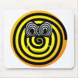 Spiral emoticon   mousepad