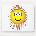 Porcupine emoticon   mousepad