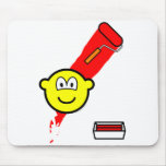 Painting with roller buddy icon   mousepad