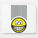 Falling smile   mousepad