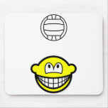 Volleyball playing smile   mousepad