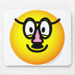 Disguised emoticon   mousepad