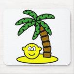 Desert island buddy icon   mousepad