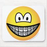 Braces emoticon   mousepad