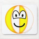 Beachball emoticon   mousepad
