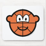 Basketball buddy icon   mousepad