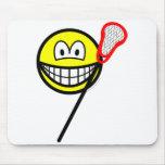 Lacrosse smile   mousepad
