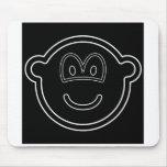 Black hole buddy icon   mousepad