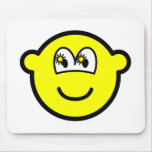 Starry eyed buddy icon   mousepad