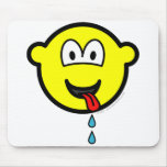 Drooling buddy icon   mousepad