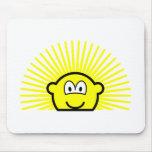 Sunrise buddy icon   mousepad